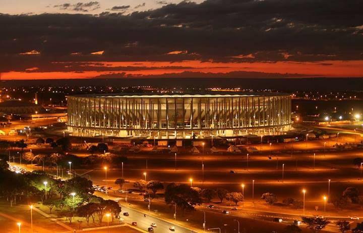 The National Stadium of Brasilia, Estádio Nacional Mané Garrincha. Brazil World Cup. PHOTO: Dida Sampaio.
