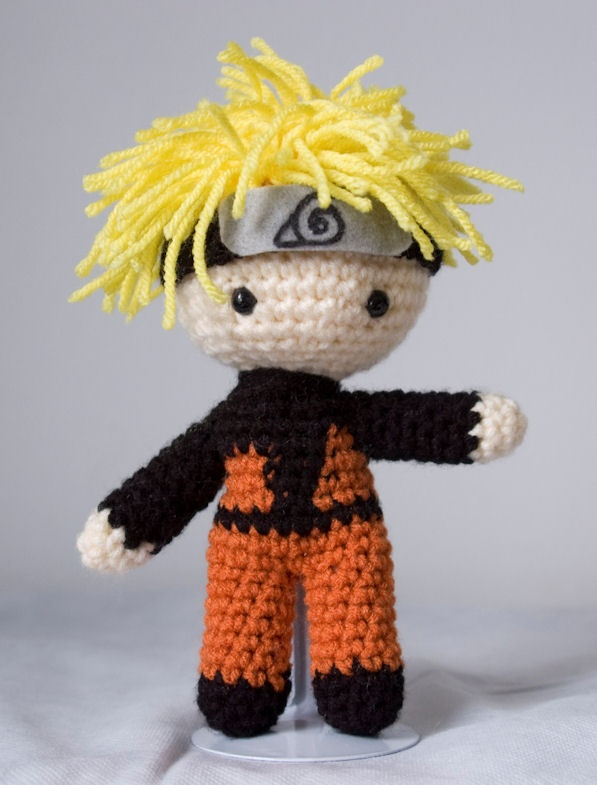 Amigurumi Square Doll : 1000+ images about Naruto on Pinterest Granny square ...