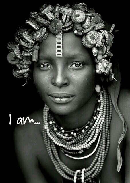An African lady