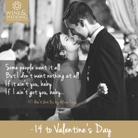 Waiting for #Valentine's Day -14  #Love songs for your first #wedding dance If I ain't got you by Alicia Keys