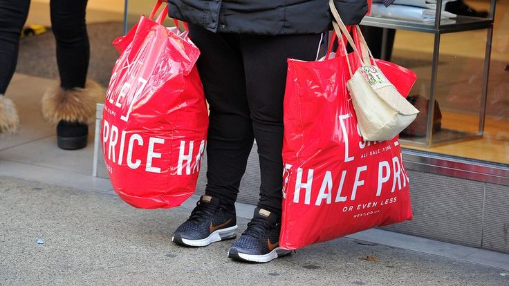 Fewer people went bargain hunting, following Black Friday discounts and smarter online shopping.