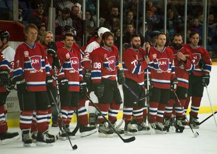 Crippin played in the Juno Cup 2015