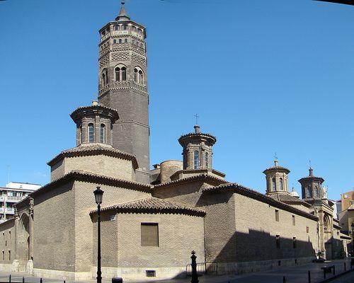 Iglesia de San Pablo. Zaragoza España.
