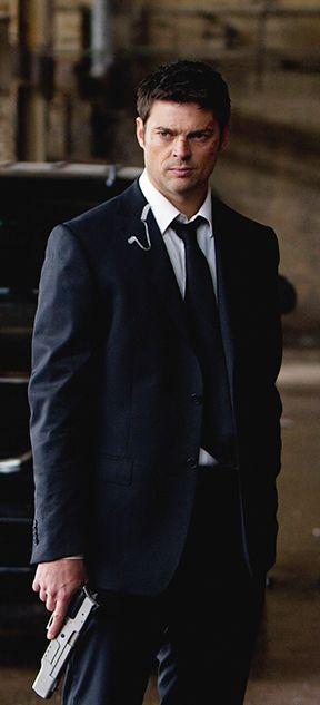 (Karl Urban as Agent Donovan Cooper in RED) aka Howard Grant Barnes aka Death....Keeper of the orange infinity stone
