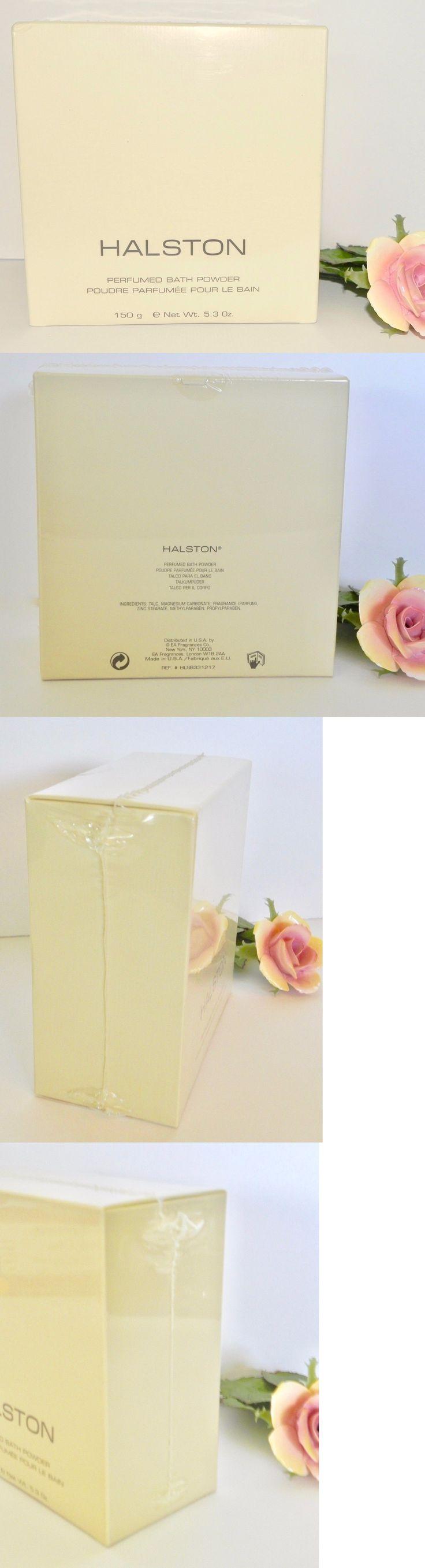 Body Powders: Sealed Vtg Original Halston Perfumed Bath Body Dusting Powder 150G Perfume Nos -> BUY IT NOW ONLY: $125 on eBay!