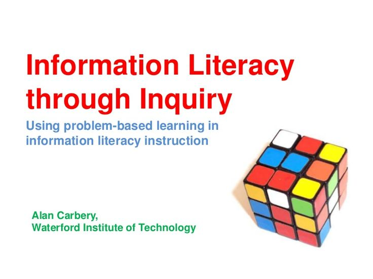 This paper presents the findings of a largely action research project, introducing problem-based information literacy instruction for final year undergraduate …