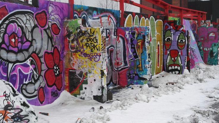Suvilahti Graffiti space