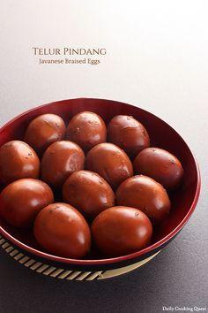 Telur Pindang - Javanese Braised Eggs