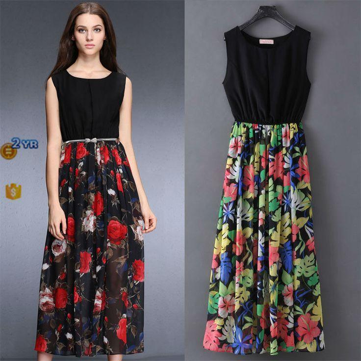 Whole 2017 New Dress Summer Flower Beach Fancy Women The Best Design Beautiful
