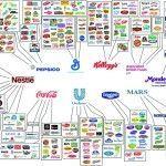 Die Weltbevölkerung wächst , nicht aber die Anzahl der im Nahrungsmittelbereich tätigen Firmen. Konzerne kaufen Firmen und steigern so ihre Marktanteile.
