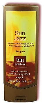 Бальзам-активатор загара с тонизирующим эффектом Sun Jazz 2-я фаза Tan Symphony , 200мл