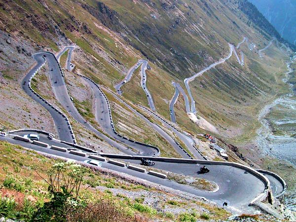 Stilfser Joch or Stelvio Pass