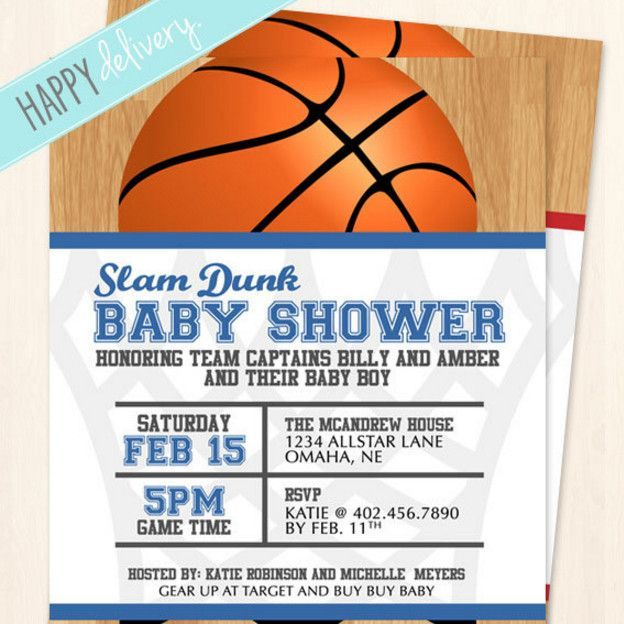 Save This Pin   Basketball Baby Shower Invitations Wording   Basketball  Baby Shower Is Not Hard