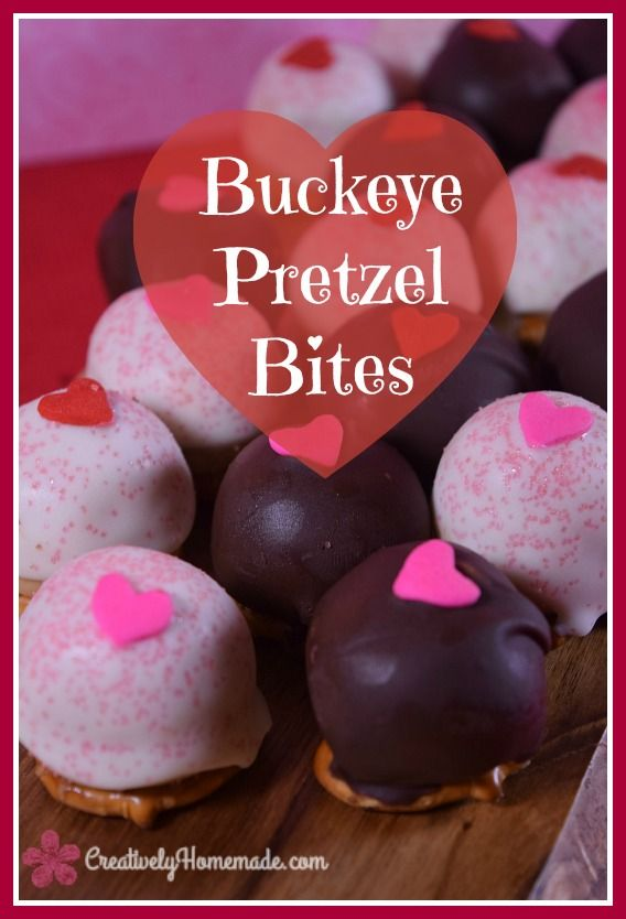 buckeye pretzel bites chocolates   white chocolate buckeyes recipe   easy valentines day candy kids   buckeyes recipe easy