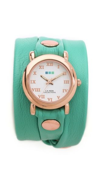 La Mer Collections Simple Wrap Watch | SHOPBOP