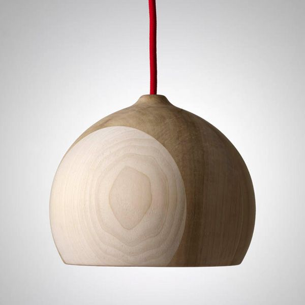 ACORN AND PORTOBELLO LAMPS BY HAND & EYE STUDIO    Designed for Hand & Eye Studio by Thomas Housden the Acorn & Portobello timber lamps combine exquisite craftsmanship with a sense of simplicity. The beauty of these lamps lies in the legibility of the assembly of parts that make up each lamp combined with the subtle variations in colour and grain of each segment.    #Lights #Wood