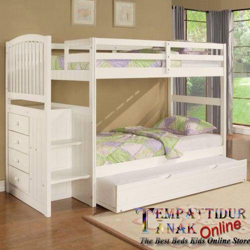 tempat tidur tingkat minimalis