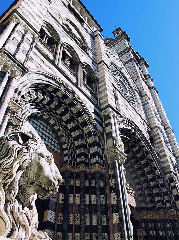 La cathédrale San Lorenzo de Gênes.