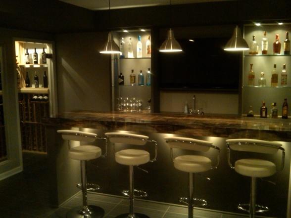 112 best images about basements on pinterest sarah for Modern wine bar design