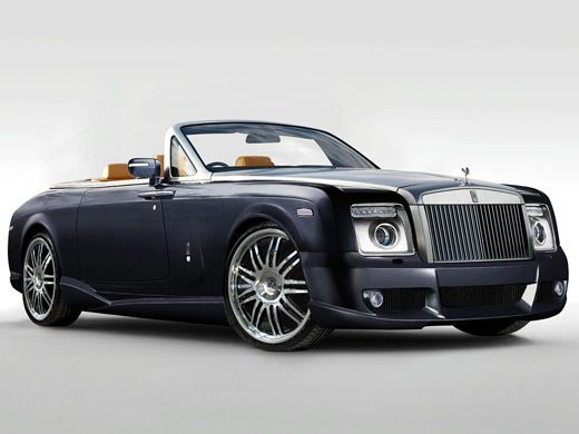 Rolls Royse Mansory...I wouldn't want to drive one, but I would love to be driven in one everyday!