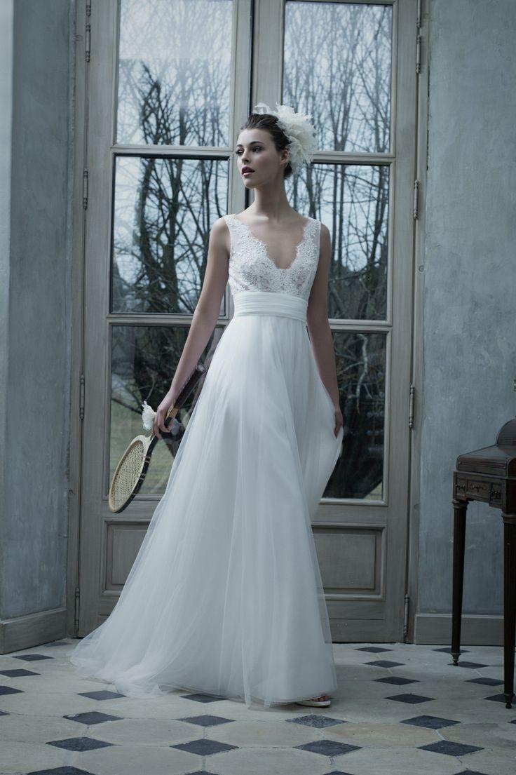 Robes de marques Cymbeline - Robes de mariée - Collection 2017 pour la robe de mariées Belen pour la collection 2017