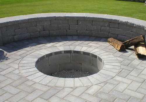 inground fire pit - Google Search