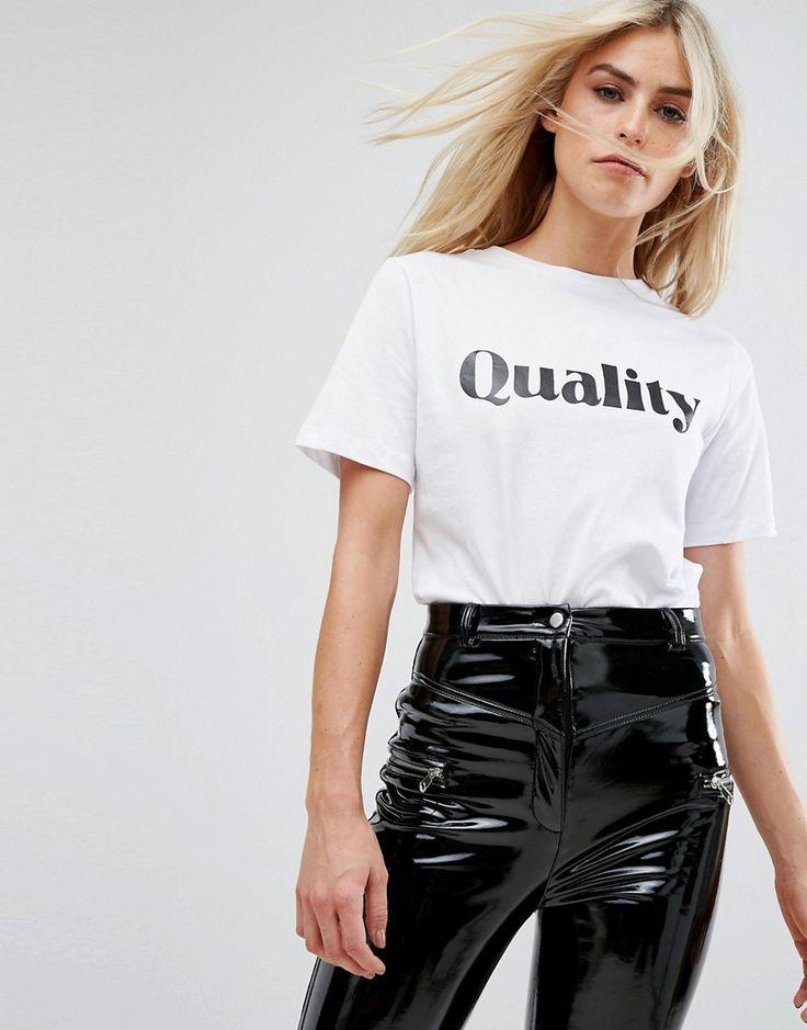 Millie Mackintosh Quality T-Shirt - White