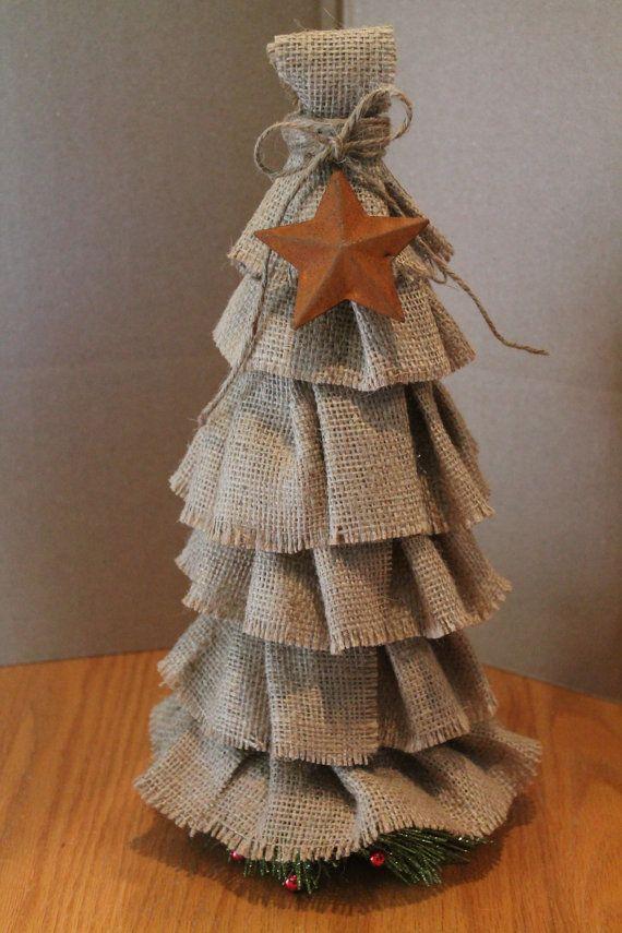 17 best images about crafts mason jars twine burlap for Burlap christmas curtains