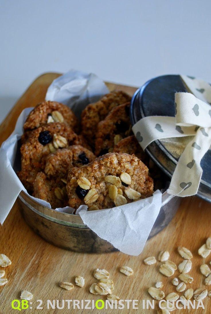 Q+B+Le+ricette+light:+Biscotti+integrali+con+fiocchi+d'avena