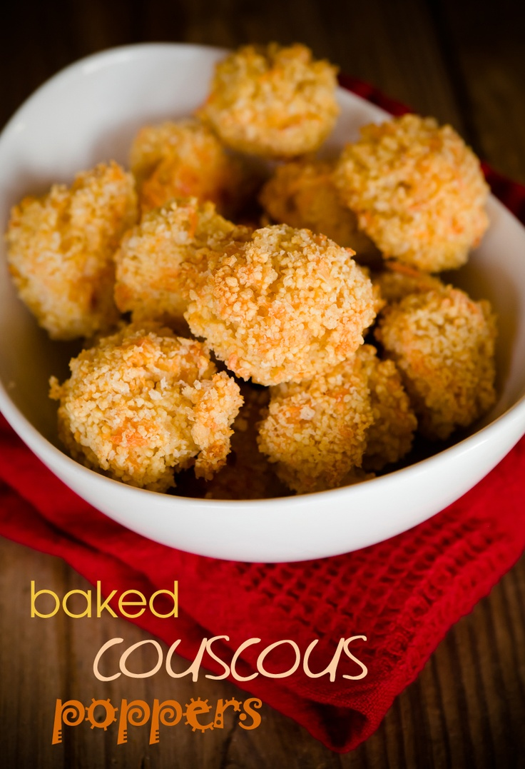 Baked Couscous Poppers ~ Cupcake Project http://www.cupcakeproject.com/2012/02/baked-couscous-poppers.html#