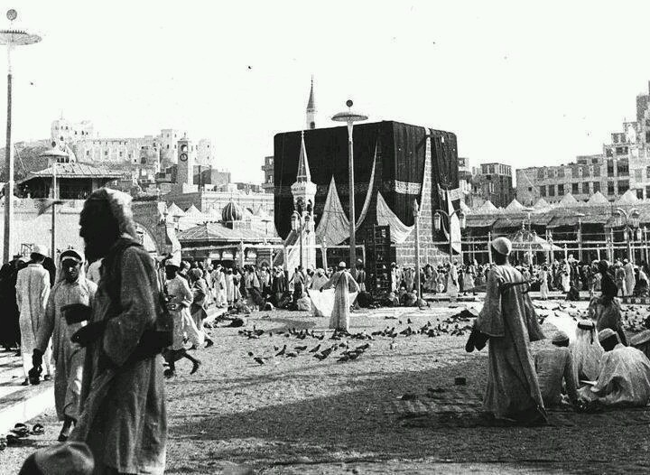 One of the oldest pictures of the kabaa