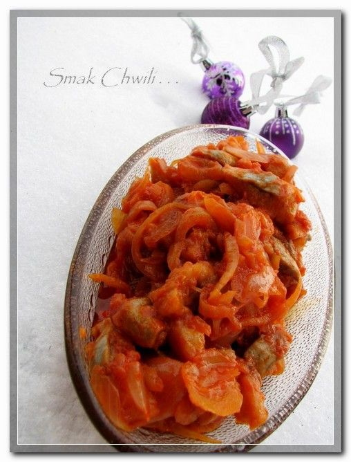 Świąteczne śledzie w sosie miodowo-pomidorowym - http://www.mytaste.pl/r/%C5%9Bwi%C4%85teczne-%C5%9Bledzie-w-sosie-miodowo-pomidorowym-3974225.html