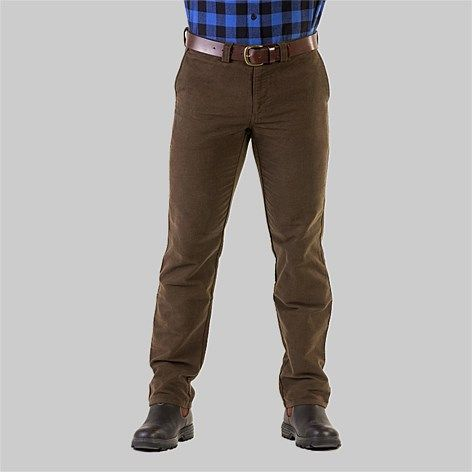Popular range of trousers specifically designed for the NZ climate. Casual and Workwear styles available.  Free delivery within NZ  , Swanndri Men's Nor'West Moleskin Pant