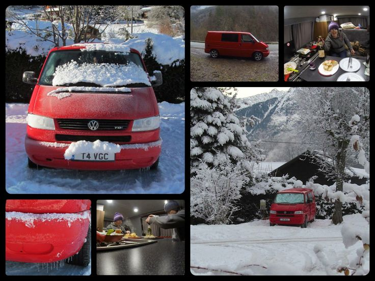 Road-trip French Alps 3 wks Vanlife love it :) #Chamonix, #Morzine, #Avoriaz & #Les Arcs