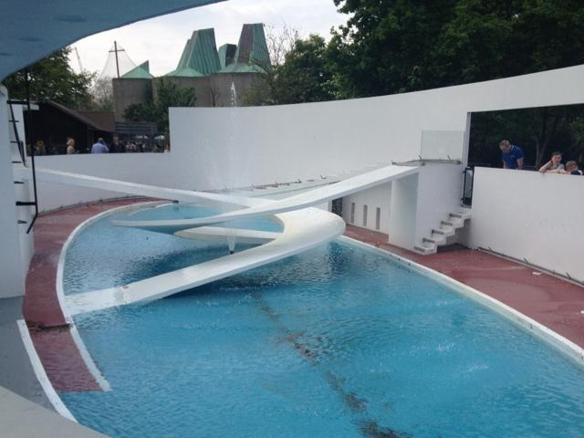 London Zoo's old penguin pool