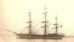 Northfleet – On the night of 22 January 1873, the Northfleet was at anchor about two or three miles (5 km) off Dungeness. Around 10.30 pm, she was run down by the steamer Murillo that backed off and disappeared into the darkness. In the ensuing panic a total of 293 people were drowned.