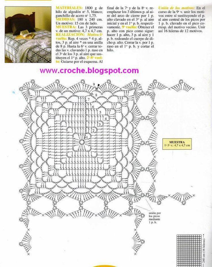 Mejores 73 imágenes de Filet Crochet en Pinterest | Punto de crochet ...