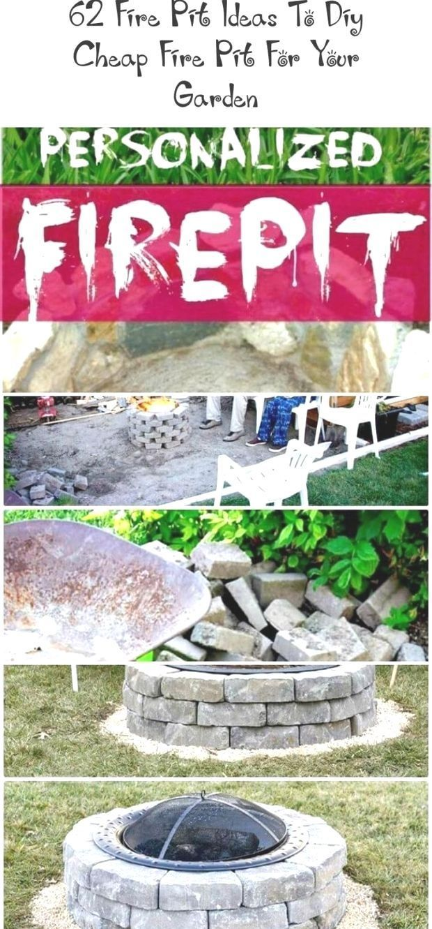 In 2020 With Images Cheap Fire Pit Garden Crafts Diy