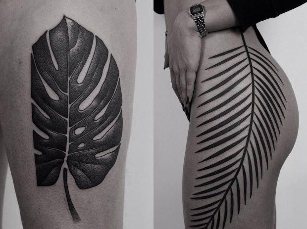 Best I N K Images On Pinterest Black Tattoos Mini Tattoos - Surreal black ink tattoos by ilya brezinski