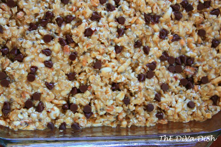 how to make granola bars for diabetics