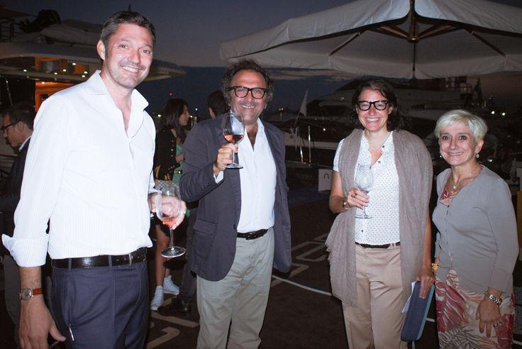 @arazeto Rodolfo, Andrea, Barbara and Daniela during Genova Boat Show 2014