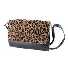 Messenger Bags Lady Shoulder Bag Soft PU Black Leopard Multifunction New 2014 Design Luxury Folding Handbags