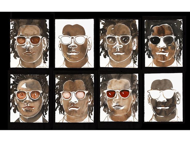 Ces Visages qu'il peint sans pareille ne sont pas seulement un rendez vous en terre créative. www.sainteculture.com/les-mr-wilson-de-nicolas-vial/1997