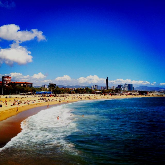 On a day like today, this is where i should be! ~ Gorgeous Barcelona