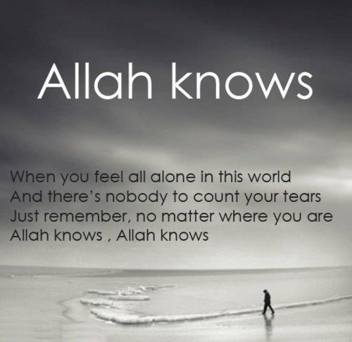<3 Allah knows