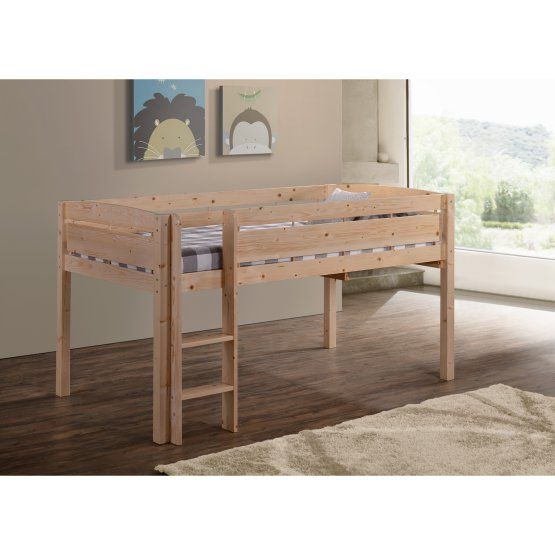 Canwood Whistler Junior Loft Bed with Optional Bedroom Set