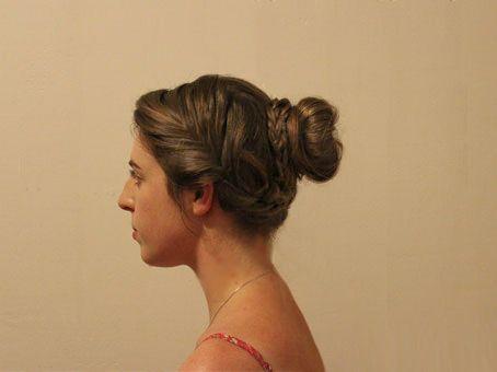Fishtail Bun Hair Tutorial