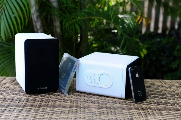 WIN MICROLAB'S H20 SPEAKERS