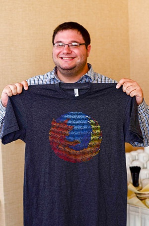 When each new t-shirt means staving off laundry for yet another day, swag quickly becomes the most coveted perk at any tech company. Mozilla WebDev had pretty much everything going for it: brilliant people, interesting problems, awesome office. Everything except a t-shirt.