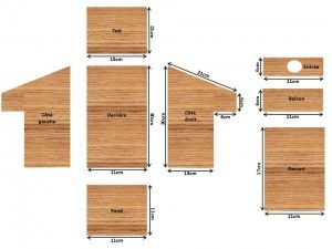 plan nichoir balcon cabane oiseaux pinterest. Black Bedroom Furniture Sets. Home Design Ideas